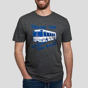 throw-em-under-the-bus Mens Tri-blend T-Shirt