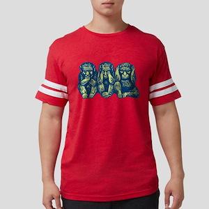 3monkeys Mens Football Shirt