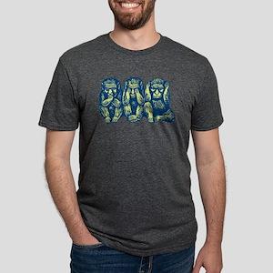 3monkeys Mens Tri-blend T-Shirt