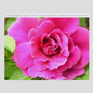 Year of Flowers Wall Calendar