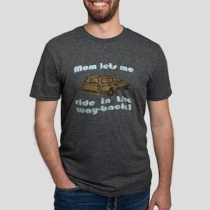 wayback Mens Tri-blend T-Shirt