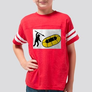Dinghy Stabber Youth Football Shirt