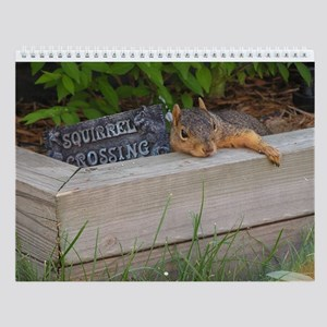 Year Of Squirrels Wall Calendar