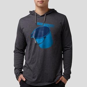 mah-bucket Mens Hooded Shirt