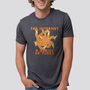 internet-tubes_bl Mens Tri-blend T-Shirt