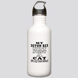 Devon Rex Cat Designs Stainless Water Bottle 1.0L