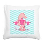 design Square Canvas Pillow