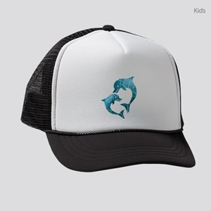 Dolphins Worn Kids Trucker hat