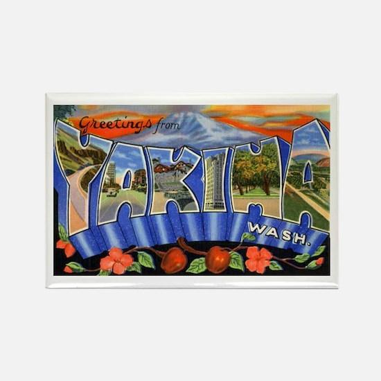 Yakima Washington Greetings Rectangle Magnet