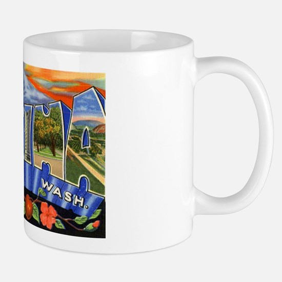 Yakima Washington Greetings Mug