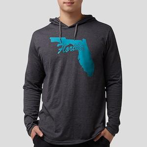 3-florida Mens Hooded Shirt