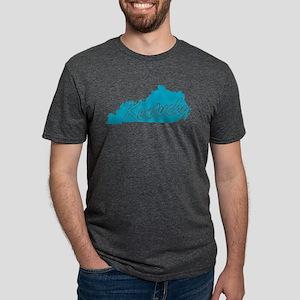3-kentucky Mens Tri-blend T-Shirt