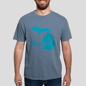3-michigan Mens Comfort Colors Shirt