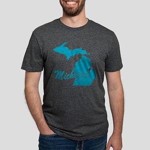 3-michigan Mens Tri-blend T-Shirt