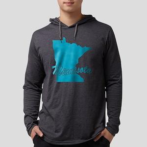 3-minnesota Mens Hooded Shirt