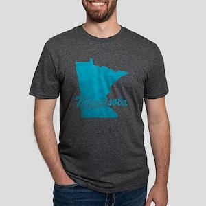 3-minnesota Mens Tri-blend T-Shirt
