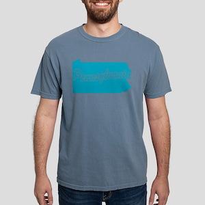 3-pennsylvania Mens Comfort Colors Shirt