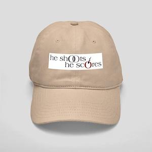 He Shoots. He Scores. Version II Cap
