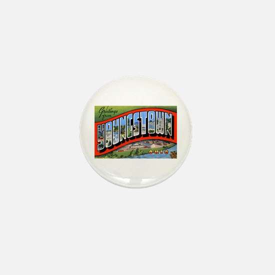 Youngstown Ohio Greetings Mini Button
