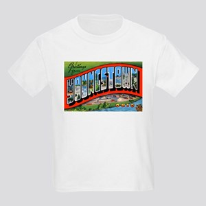 Youngstown Ohio Greetings (Front) Kids T-Shirt