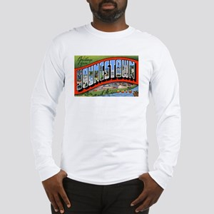 Youngstown Ohio Greetings (Front) Long Sleeve T-Sh