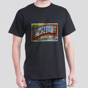 Youngstown Ohio Greetings (Front) Dark T-Shirt