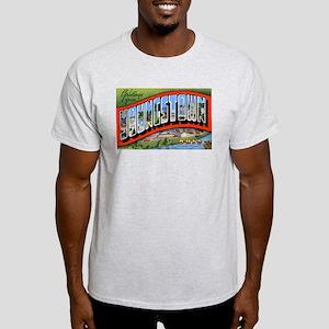 Youngstown Ohio Greetings Ash Grey T-Shirt