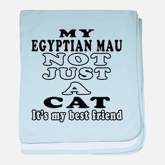 Egyptian Mau Cat Designs baby blanket
