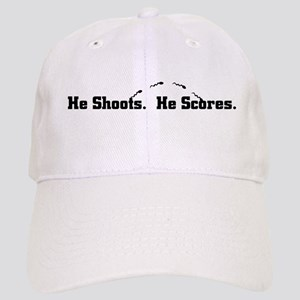 He Shoots. He Scores. Cap