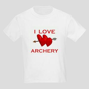 I LOVE ARCHERY Kids T-Shirt
