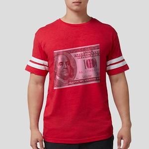 100-dollar-closeup_pink Mens Football Shirt