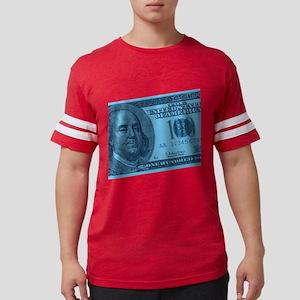 100-dollar-closeup_blue Mens Football Shirt