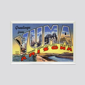 Yuma Arizona Greetings Rectangle Magnet