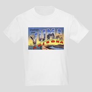 Yuma Arizona Greetings (Front) Kids T-Shirt