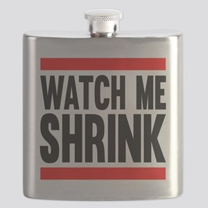 Watch Me Shrink Flask