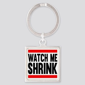 Watch Me Shrink Square Keychain