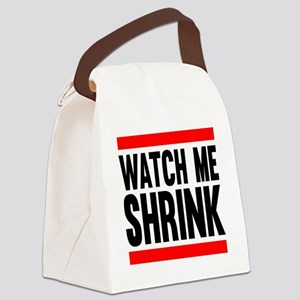 Watch Me Shrink Canvas Lunch Bag