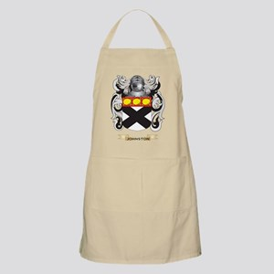 Johnston Coat of Arms (Family Crest) Apron