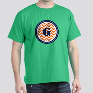 Orange & Navy Dark T-Shirt