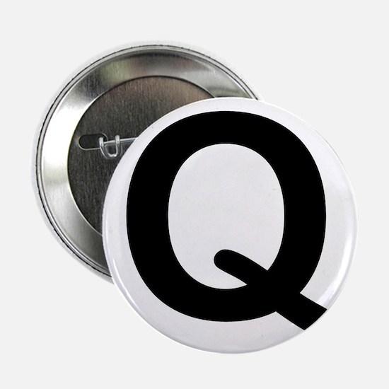 """Letter Q 2.25"""" Button"""