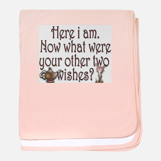 Two wishes baby blanket