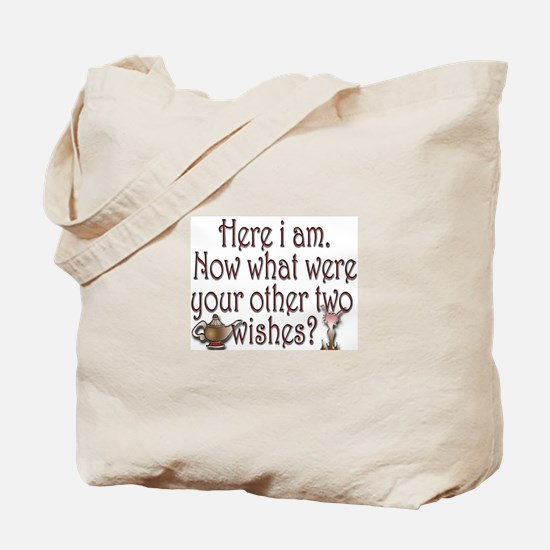 Two wishes Tote Bag