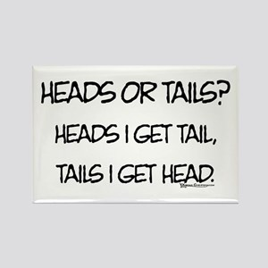 Heads or Tails? Rectangle Magnet