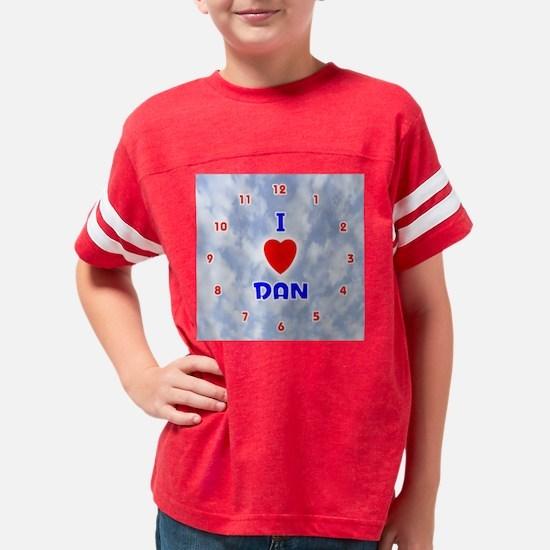 1002BL-Dan Youth Football Shirt