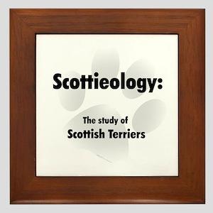 Scottieology Framed Tile
