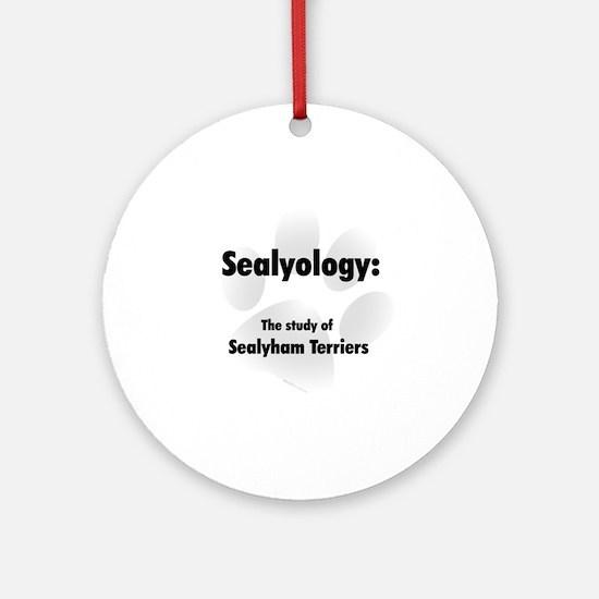 Sealyology Ornament (Round)
