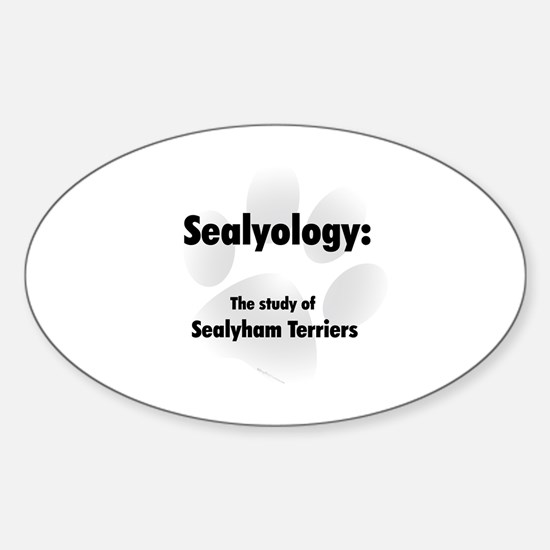 Sealyology Oval Decal