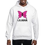 Liliana - Butterfly Hooded Sweatshirt