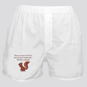 ADHD Squirrel Boxer Shorts