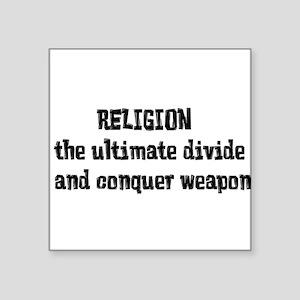 Religion Weapon Sticker